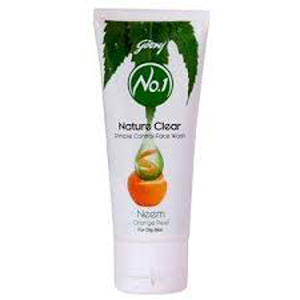 Godrej No 1 Facewash Nature White Neem Orange Peel