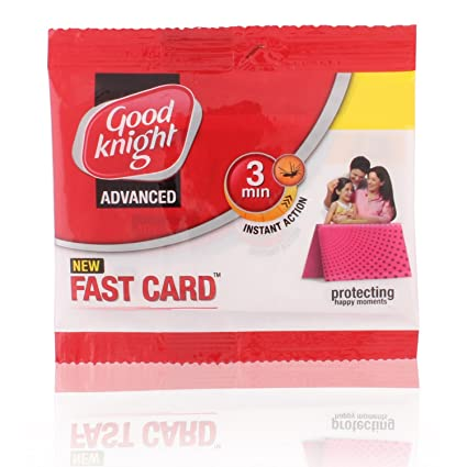 Good Knight Advance Fast Card 3 min Instant Action