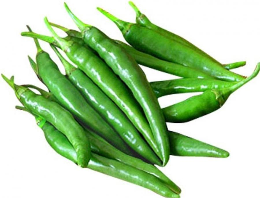 Green Chillies - Spicy