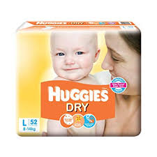 Huggies Dry Diapers Large