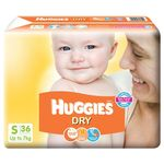 Huggies Dry Diapers Small