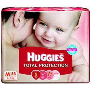 Huggies Total Protection Diapers XL
