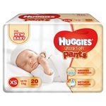 Huggies Ultra Soft Pants Xtra Small - 20 Diapers