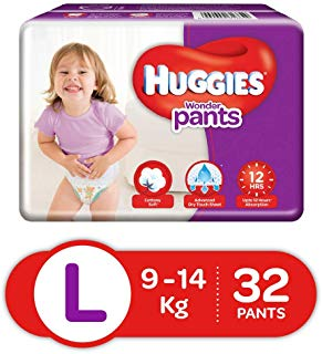 Huggies Wonder Pants L 9 to 14 kg