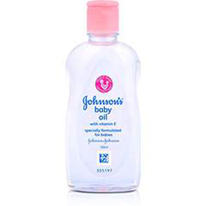 Johnson and Johnson Baby Oil