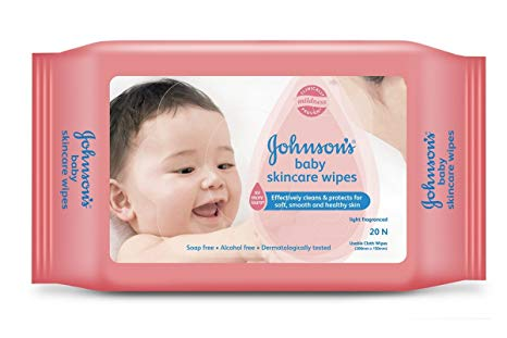 Johnson And Johnson Baby Skincare Wipes