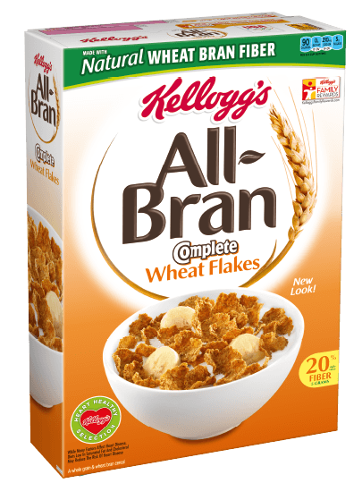 Kelloggs All Bran Complete Wheat Flakes