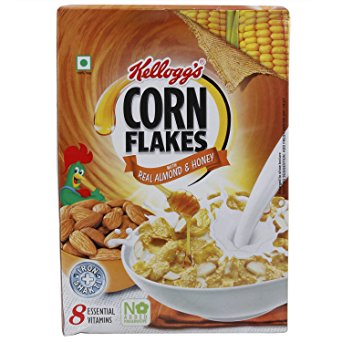 Kelloggs Corn Flakes Real Almond and Honey