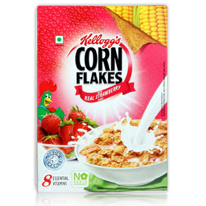 Kelloggs Corn Flakes Strawberry