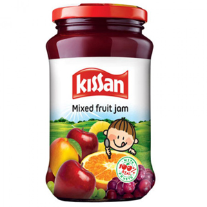 Kissan Mixed Fruit Jam Jar