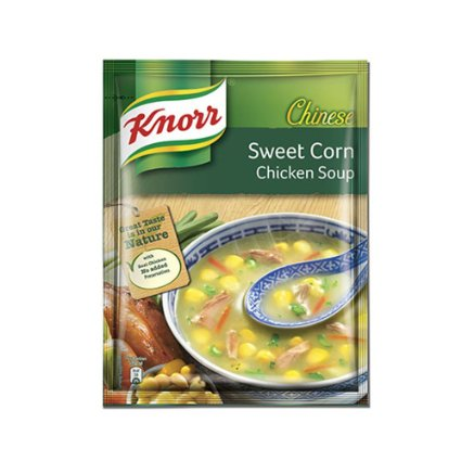 Chinese Sweet Corn Chicken Soup