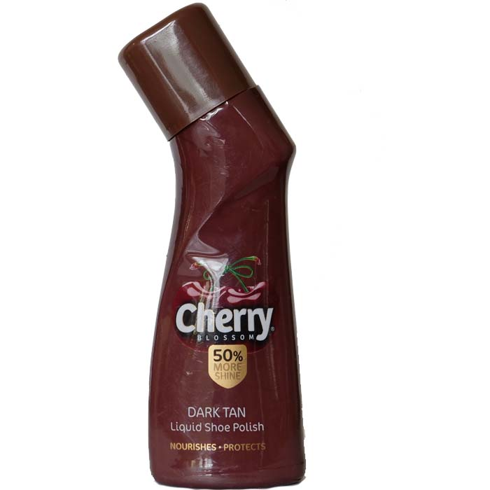 Cherry Liquid Shoe Polish - Dry Tan