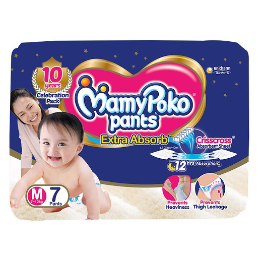 Mamypoko Pants Extra Absorb Diapers M