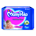 Mamypoko Soft Baby Wipes - With Green Tea Essence