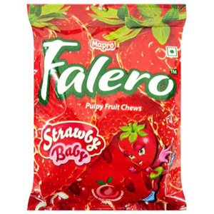 Mapro Falero Pulpy Fruit Chews Strawbery Flavour