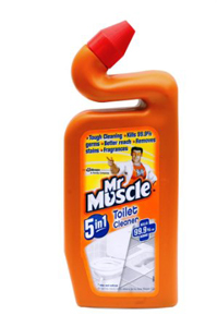 Mr Muscle 5 In 1 Toilet Cleaner