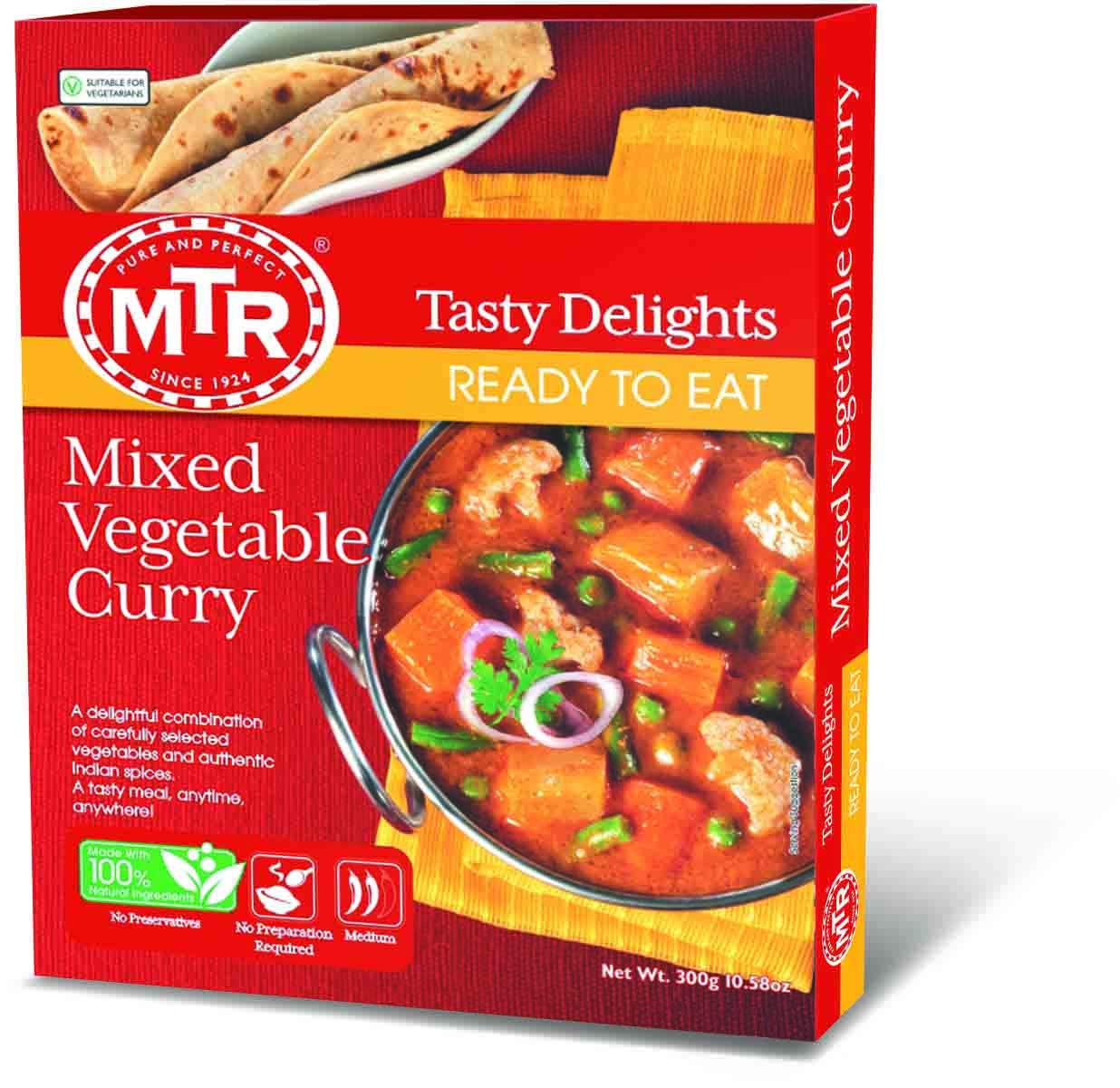 Mtr Ready To Eat Mixed Vegetable Curry