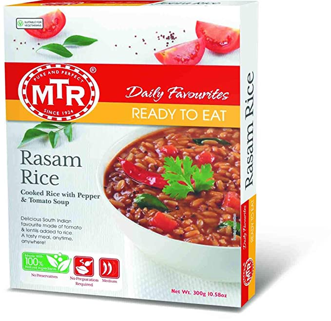 Mtr Ready To Eat Rasam Rice