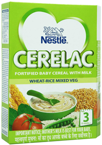 Nestle Cerelac Wheat Mixed Vegetable Stage 3