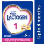 Nestle Lactogen 1 Infant Formula Powder Upto 6 Months Stage 1