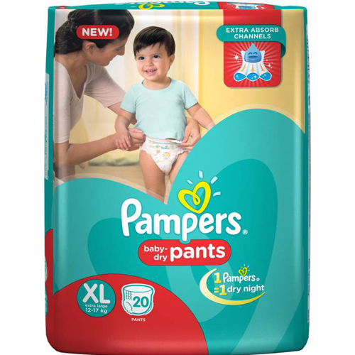 Pampers Diaper Pants - Extra Large  New 20 pc