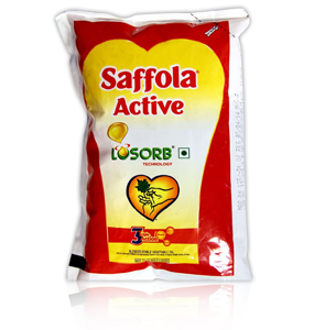 Saffola Active Oil Pouch