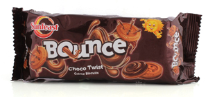 Sunfeast Bounce Choco Twist Creame Biscuits