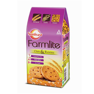 Sunfeast Farmlite Biscuits Oats and Raisins