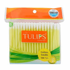 Tulip Cotton Ear Buds