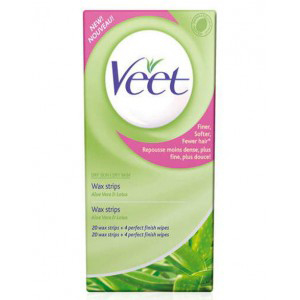 Veet Wax Strips For Dry Skin