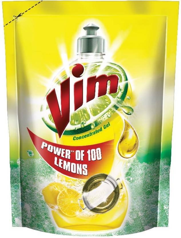 Vim Lemon Dishwash Liquid