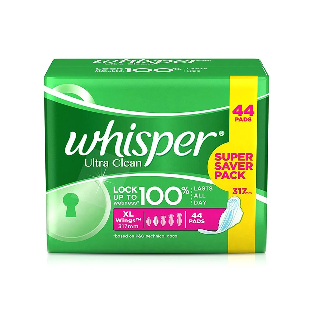 Whisper Ultra Clean (Extra Large Wings) XL